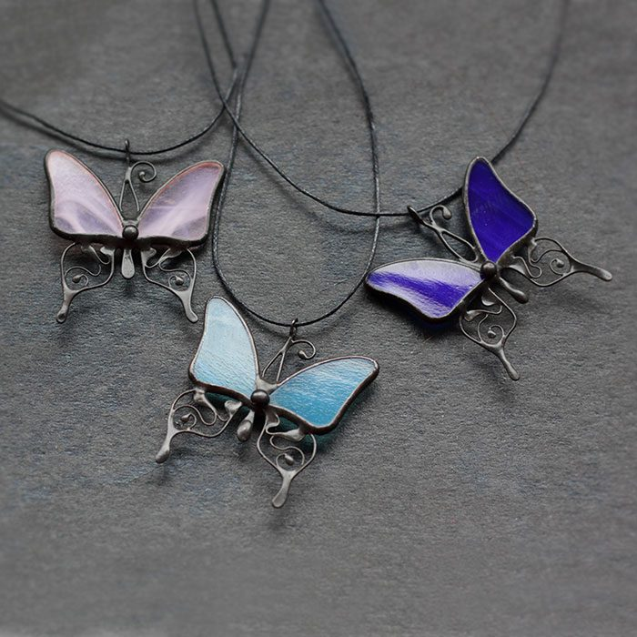 Butterfly Necklace Pendant