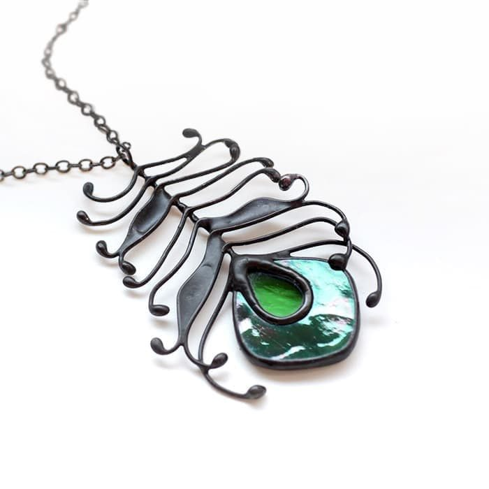 iridized-peacock-feather-necklace-3 copy