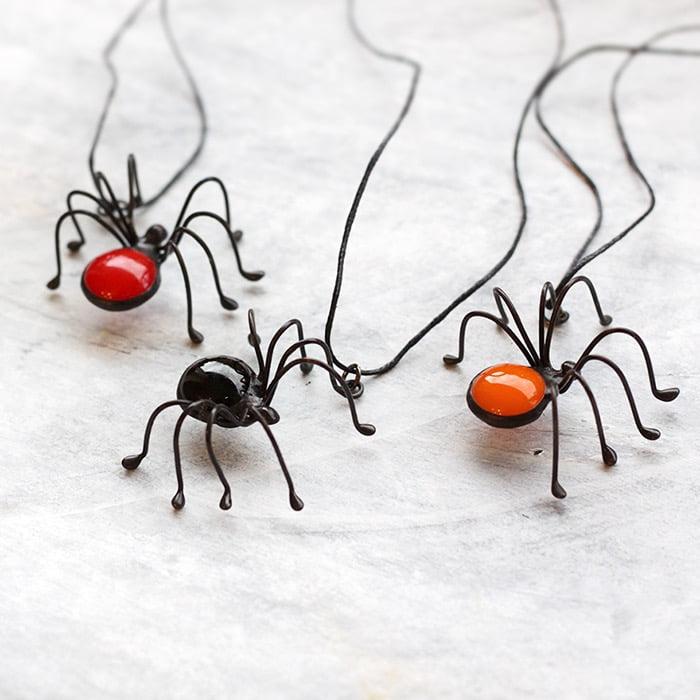 Spider Necklace Pendant
