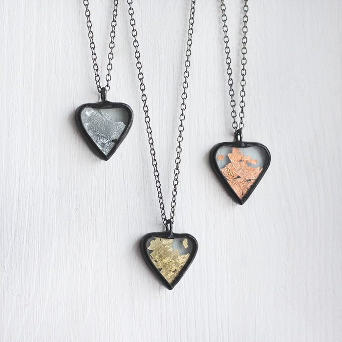 valentines-heart-glitter-necklace-pendant-silver-copper-gold-square