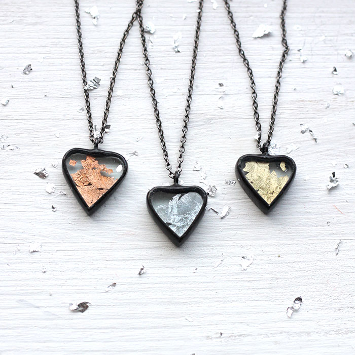 Valentine's Heart Necklace Pendant
